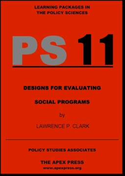 Designs For Evaluating Social Programs - PS11